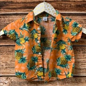 Old Navy• Infant Pineapple Button Down